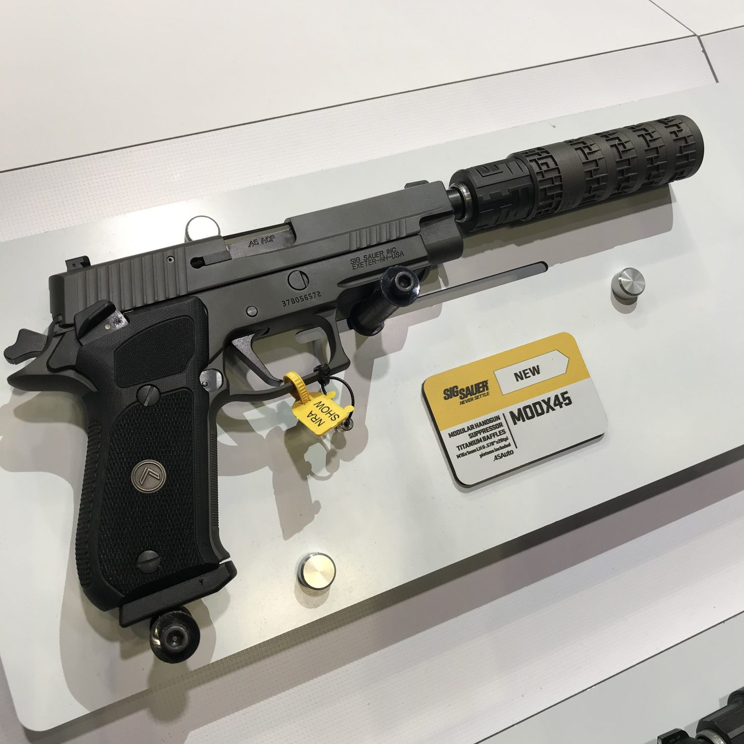 NRA 2019] SIG Sauer's New Products -The Firearm Blog