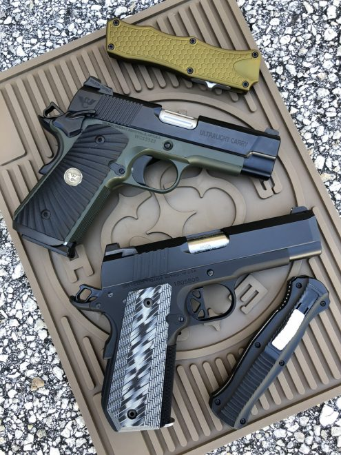 BATTLE OF THE BULLS: Dan Wesson ECP Vs Wilson Combat ULC