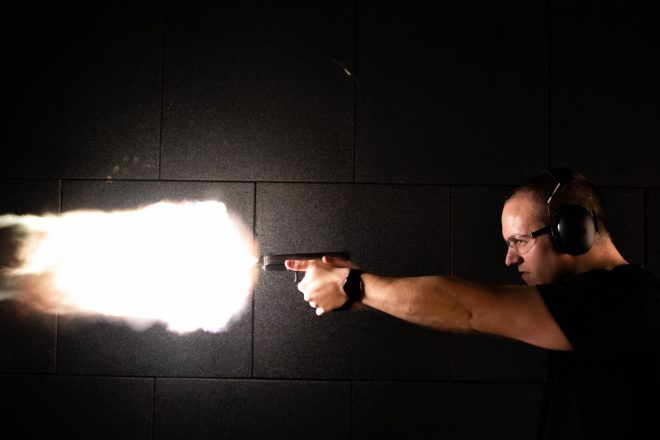 Approaching Mach 2 With A Glock