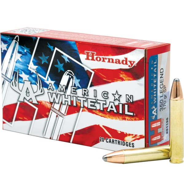 Hornady American Whitetail .350 Legend
