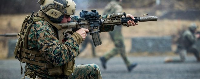 U.S. Marines, Norwegian Coastal Ranger Commando Execute Immediate Action Drills Platinum Ren 2019