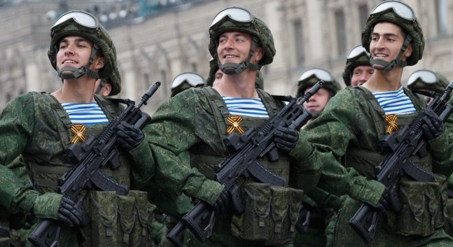 AK-12 Rifles Shown at 2019 Moscow Victory Day Parade (1)