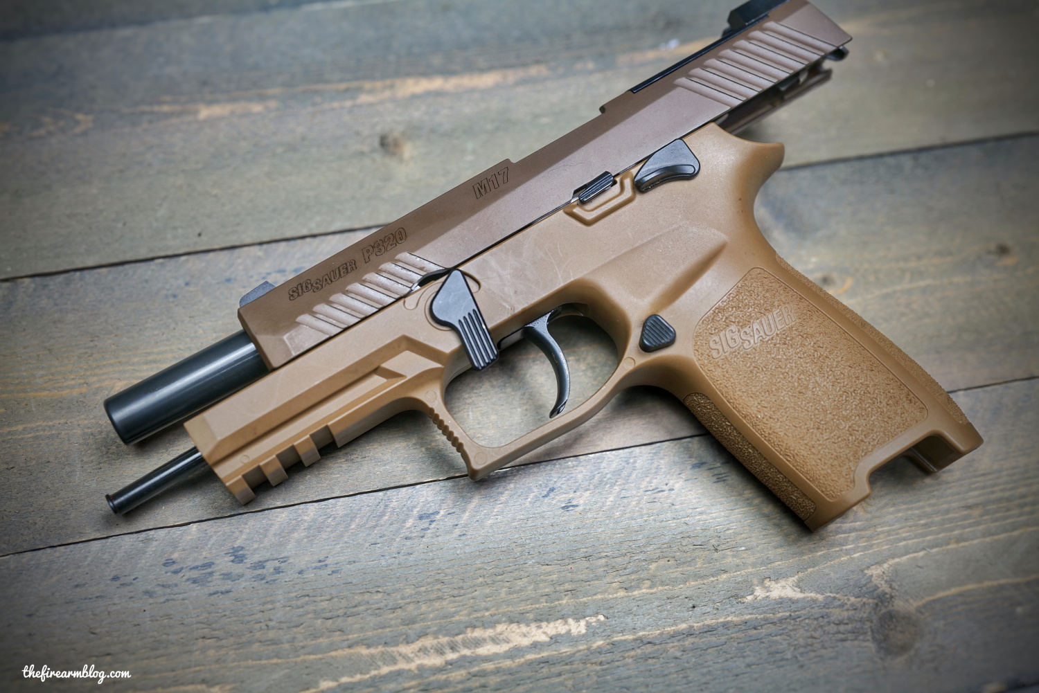 TFB FIELD STRIP: The U S  Army SIG Sauer P320 M17 Pistol