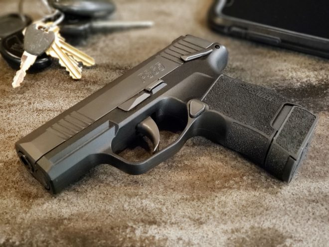 SIG Sauer Introduce P365 with Manual Safety -The Firearm Blog