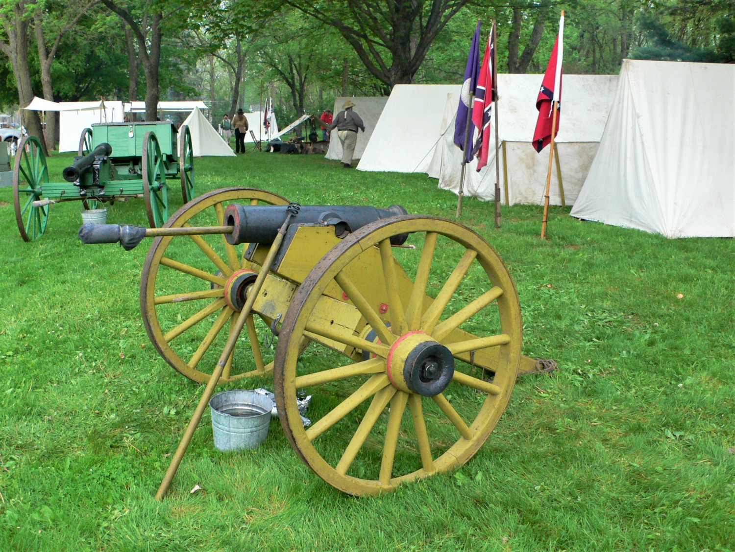 POTD: Mountain Howitzer At A Civil War Reenactment -The