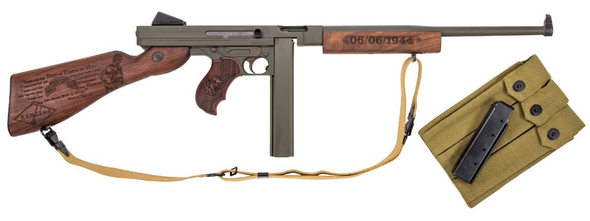 Thompson Auto-Ordnance Introduces Limited Edition D-Day Series Guns (17)