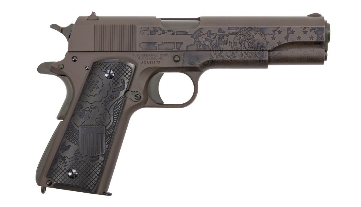 Thompson Auto-Ordnance Introduces Limited Edition D-Day Series Guns (19)
