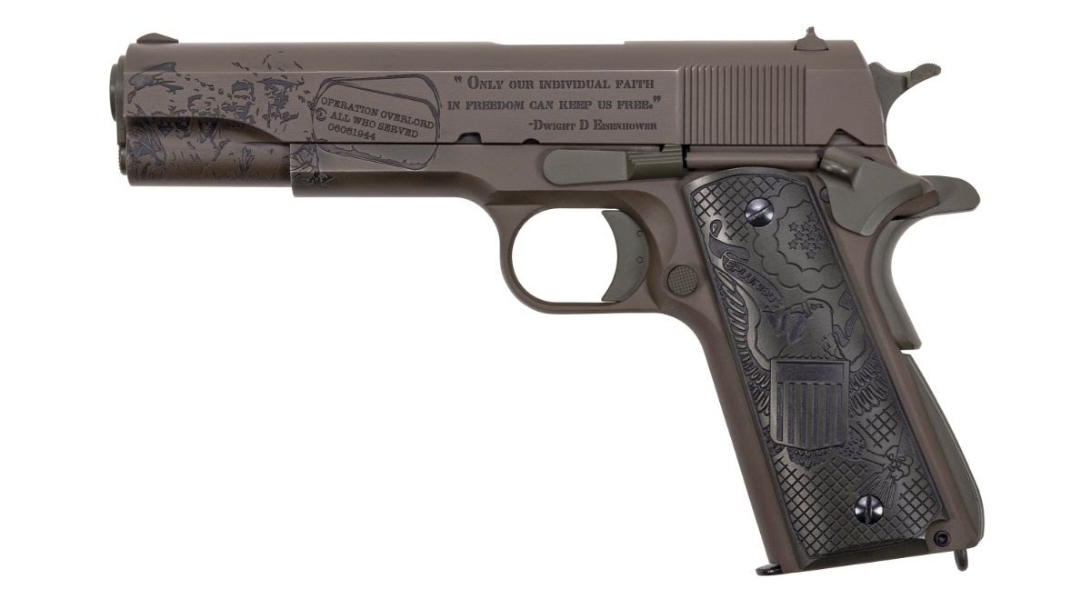 Thompson Auto-Ordnance Introduces Limited Edition D-Day Series Guns (20)