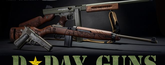 Thompson Auto-Ordnance Introduces Limited Edition D-Day Series Guns (660)