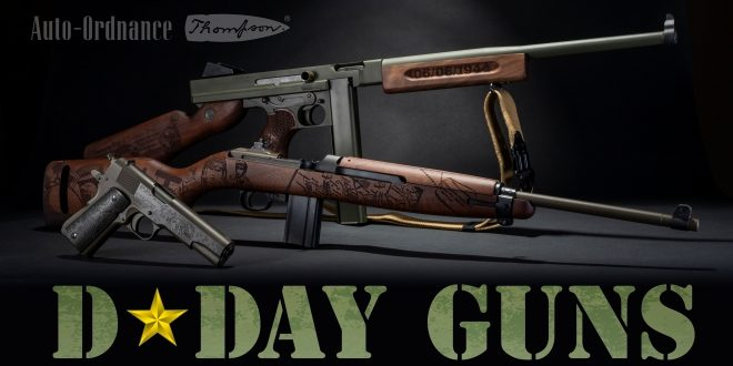 Thompson Auto-Ordnance Introduces Limited Edition D-Day Series Guns