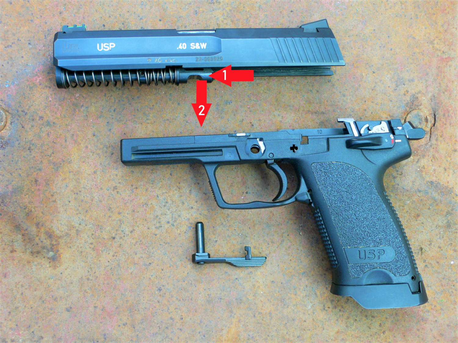 TFB Field Strip: HK USP