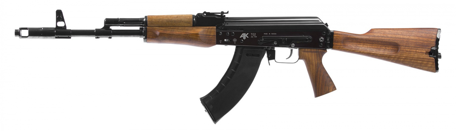 AK With Side Folding Wooden Stock (3)