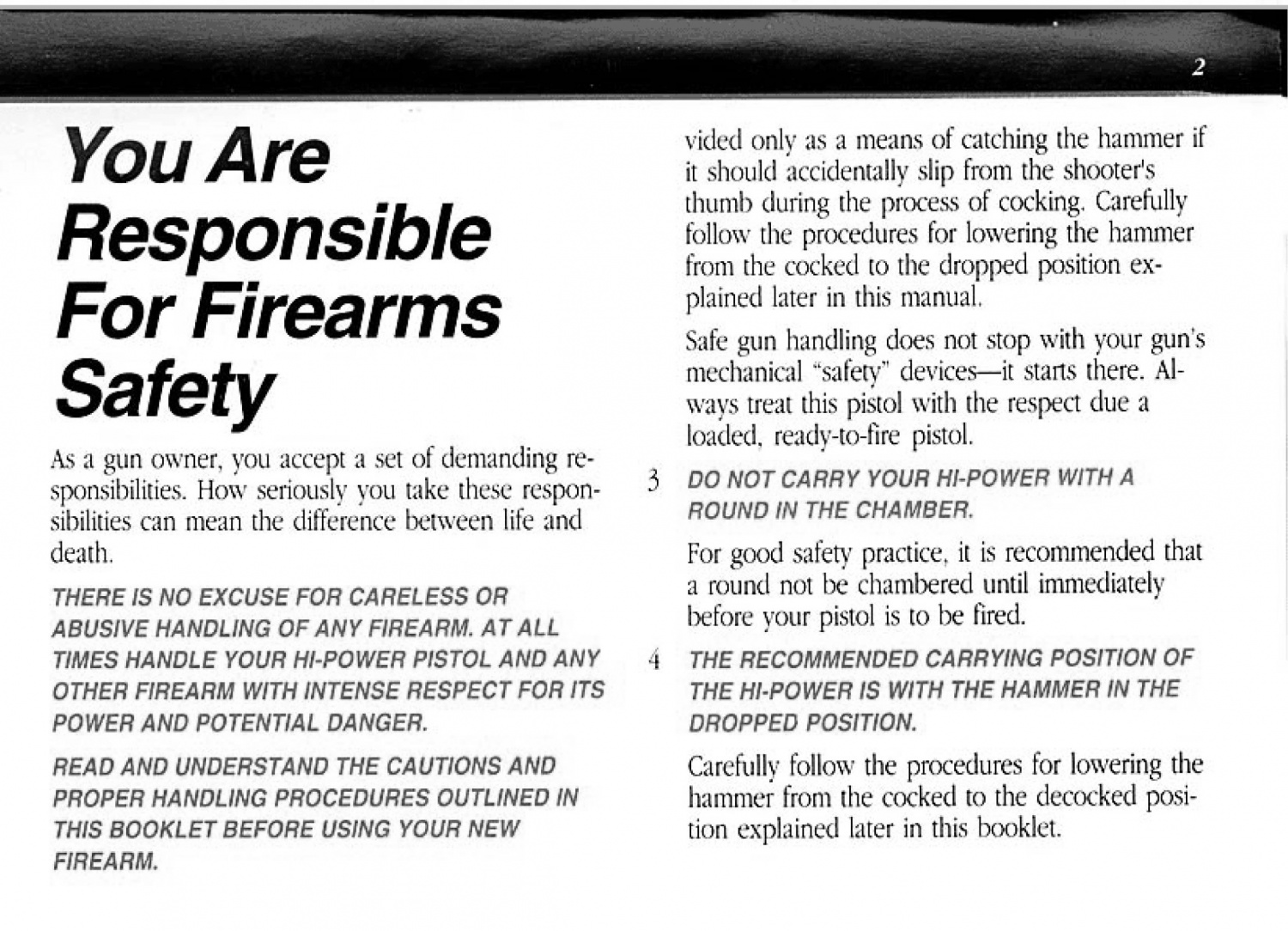 Concealed Carry Corner: Carrying Without a Round in the
