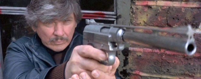 Charles Bronson in Death Wish 3.