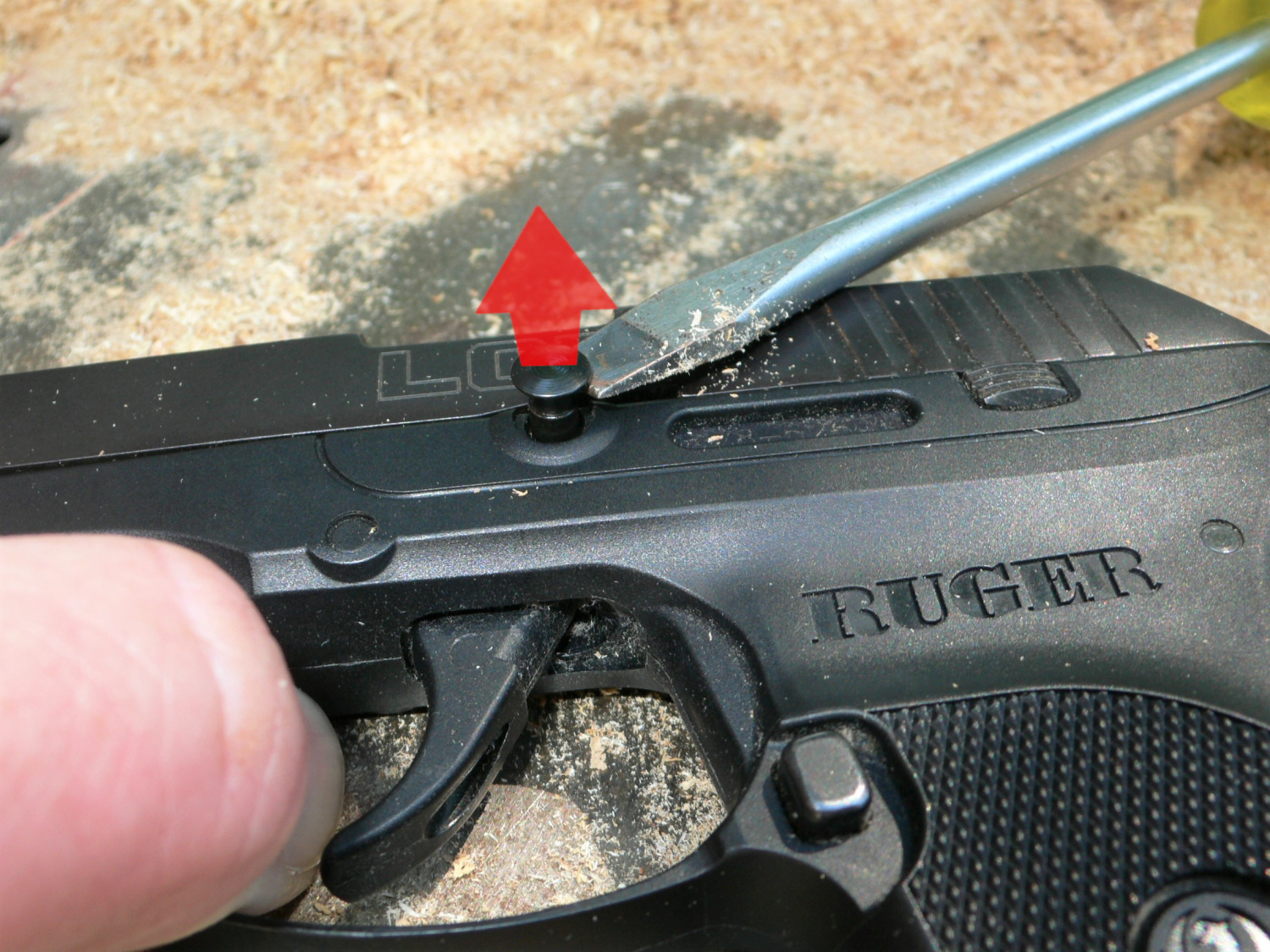 TFB Field Strip: Ruger LCP