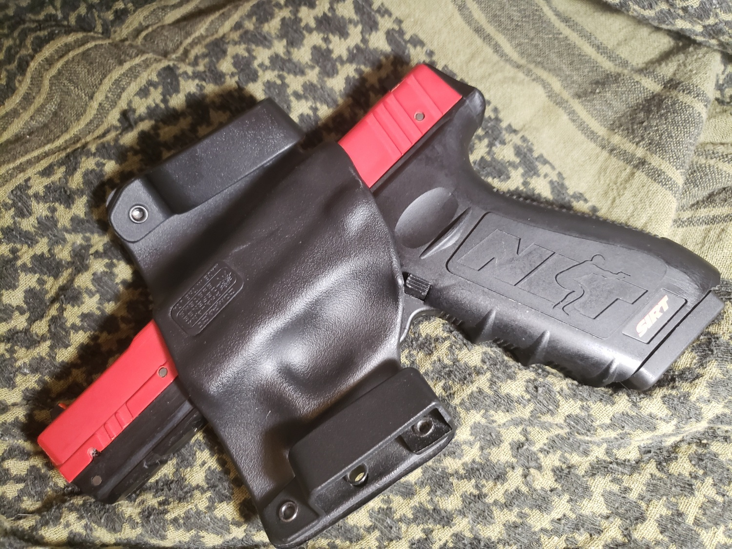 OWB COMPACT HOLSTER by Phalanx Defense Systems, left side