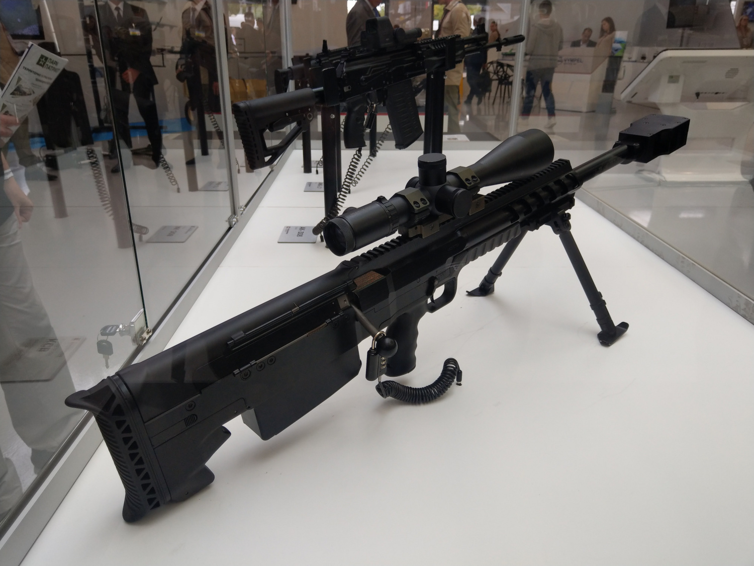 Anti Materiel Rifle army-2019] new russian sv-18 anti-materiel rifle