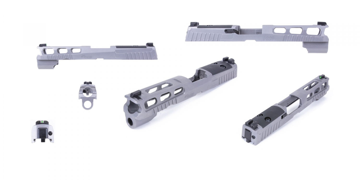 BRAND SPANKIN' NEW: SIG Pro-Cut Slide Assembly for P320F & P320CThe