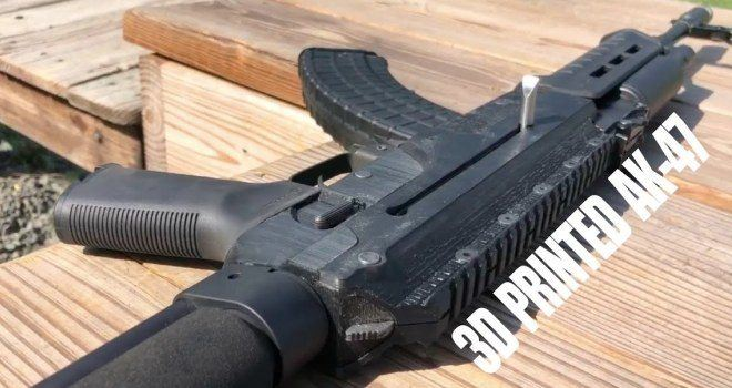 DNO Firearms DX-7 Rifle With Prototype 3D Printed Polymer Receivers (1)