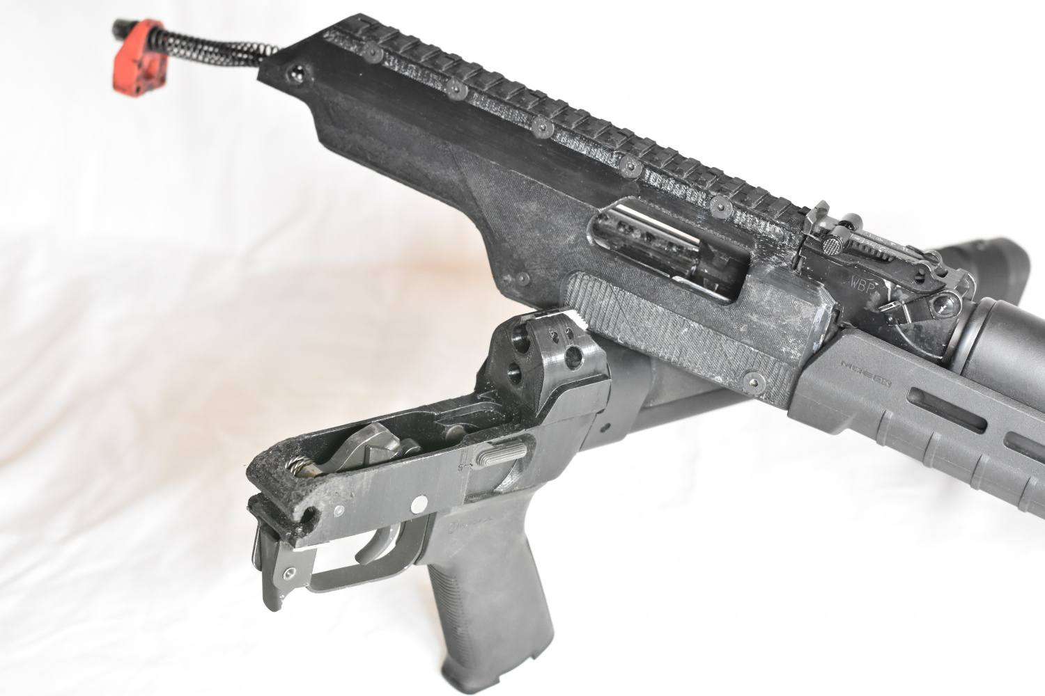 DNO Firearms DX-7 Rifle With Prototype 3D Printed Polymer Receivers (14)