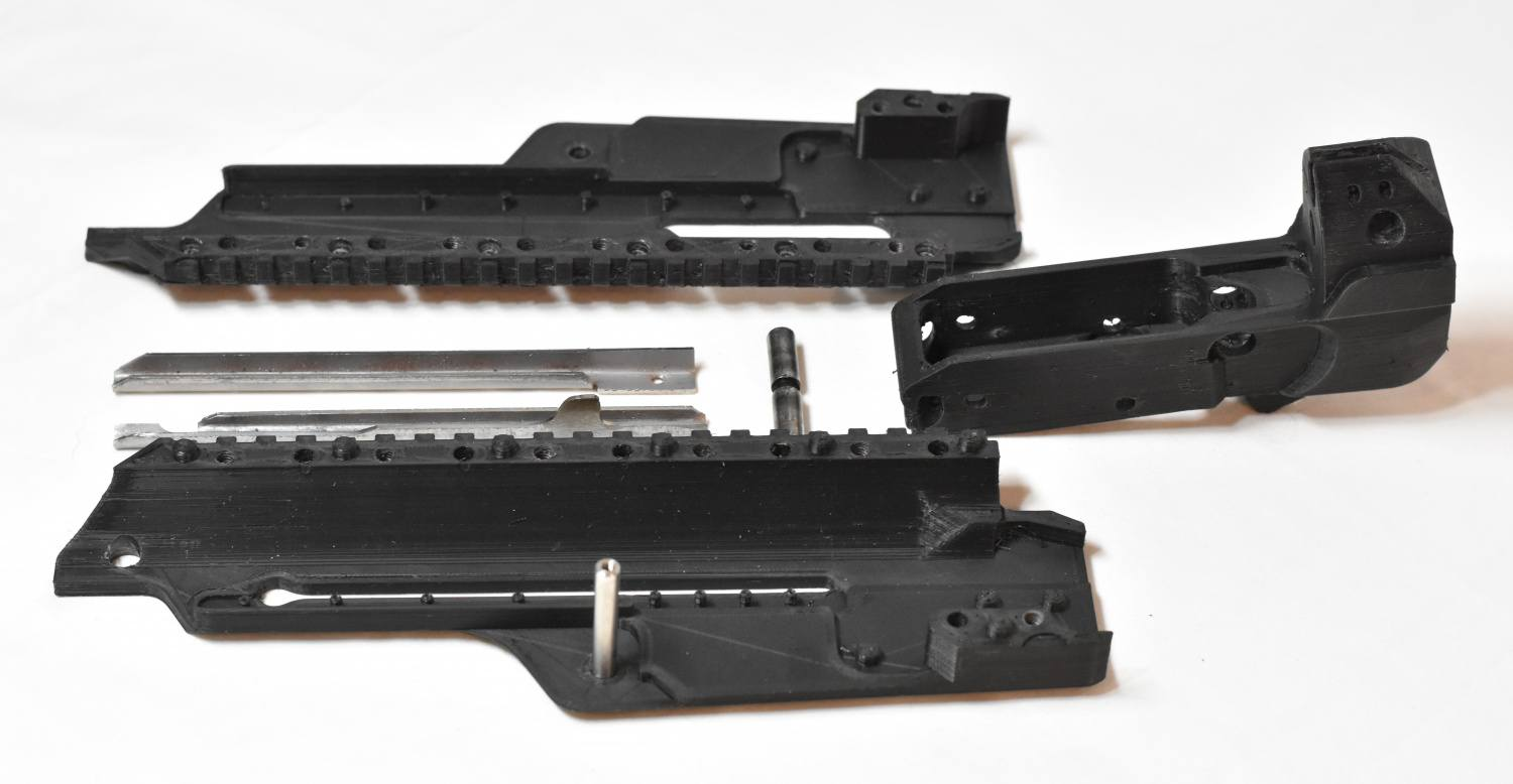 DNO Firearms DX-7 Rifle With Prototype 3D Printed Polymer Receivers (20)