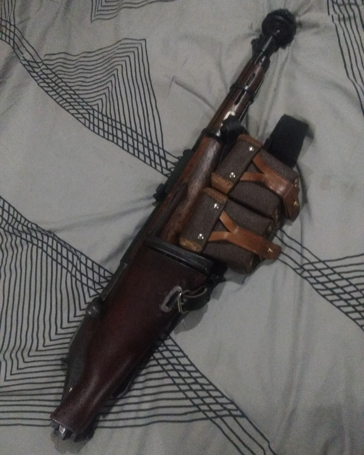 Folded Mosin