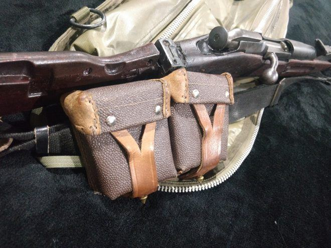 Mosin with Ammo pouches