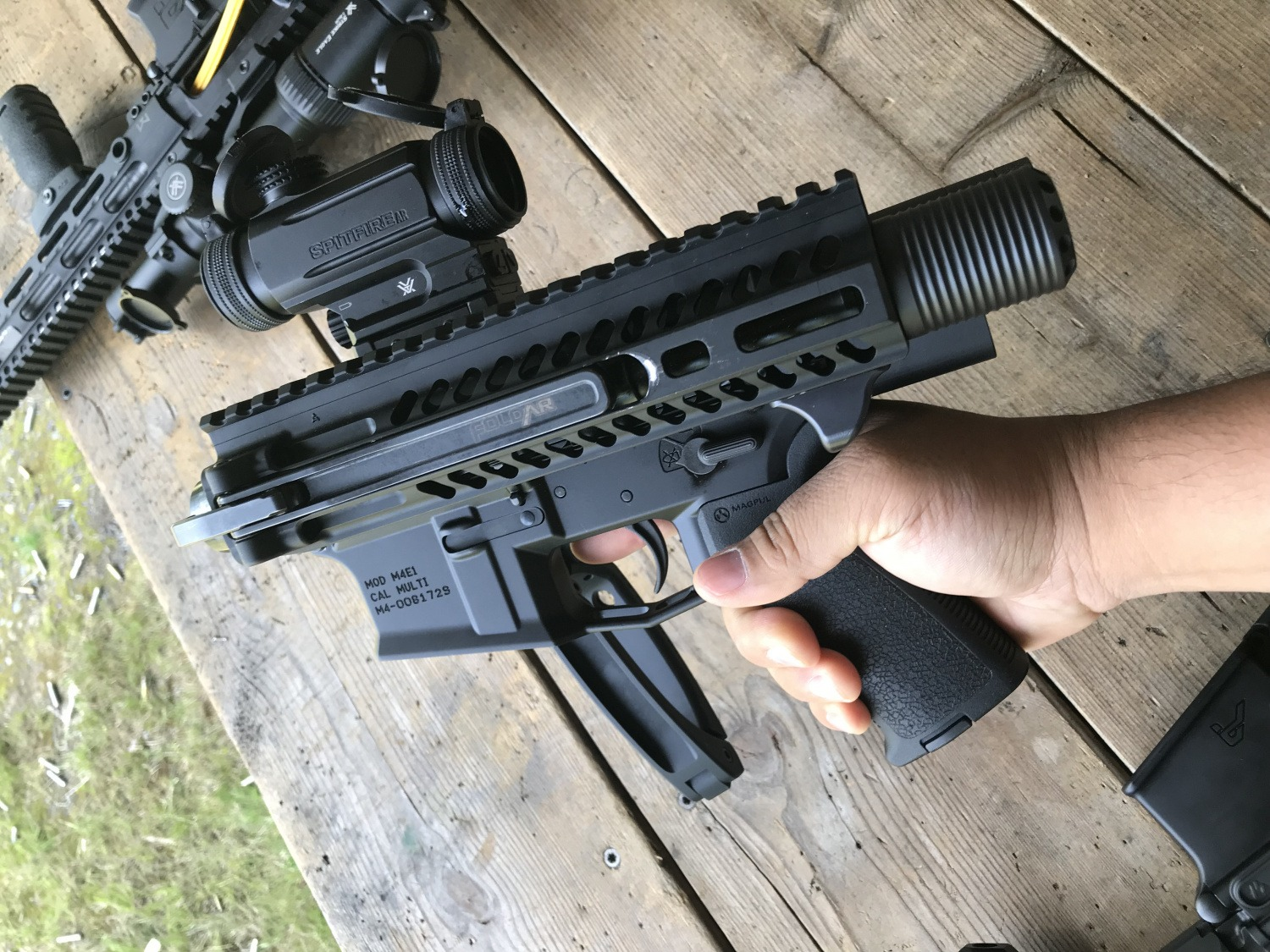 TriggrCon 2019] Dead Foot Arms' SCW 2 5 PDW Brace -The
