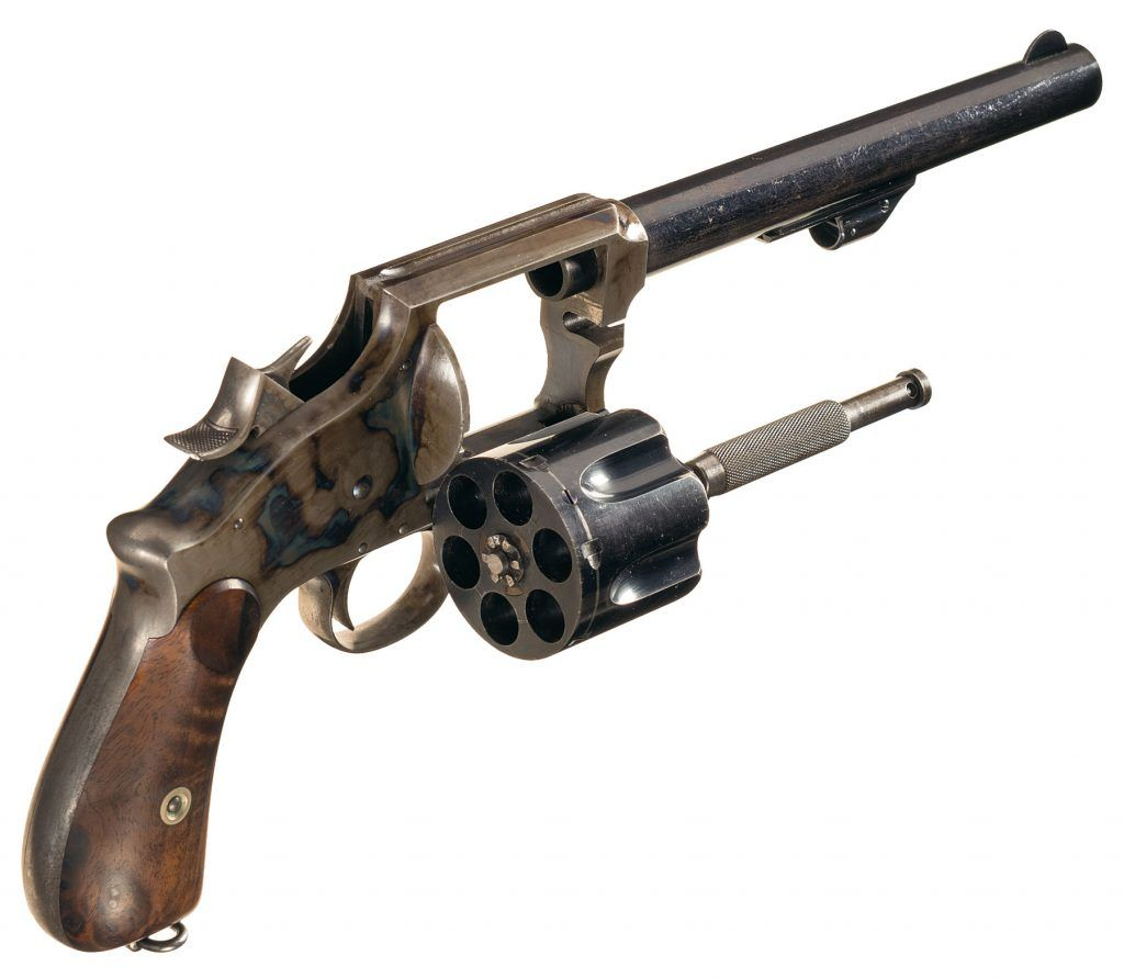 September 2019 Rock Island Premiere Firearms Auction - Winchester Revolver (11)
