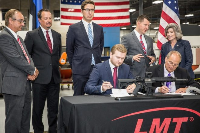 Lmt signs contract