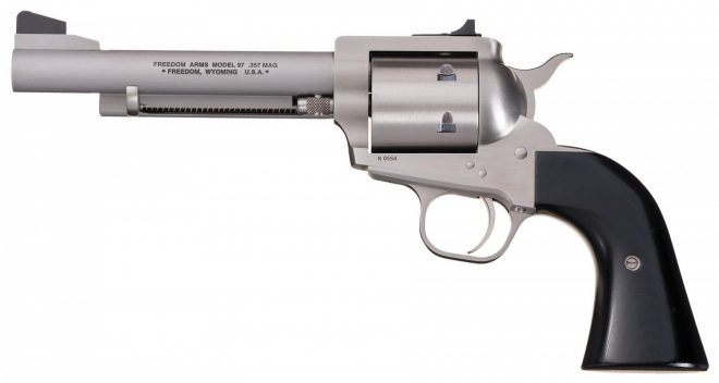 Freedom Arms Model 97. Image Credit: Rock Island Auctions