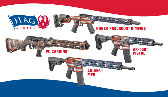 Ruger S New Flag Series Of Firearmsthe