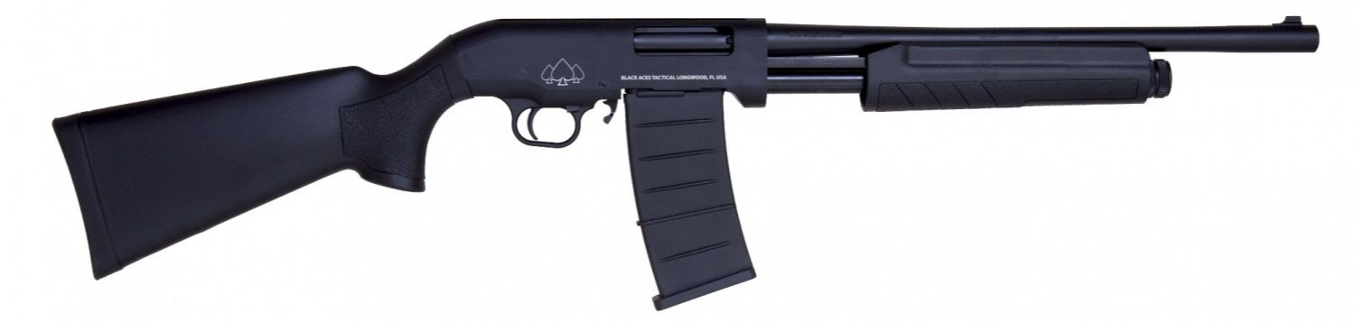 Black Aces Tactical PRO Series Shotguns That Take Saiga-12 Magazines (5)