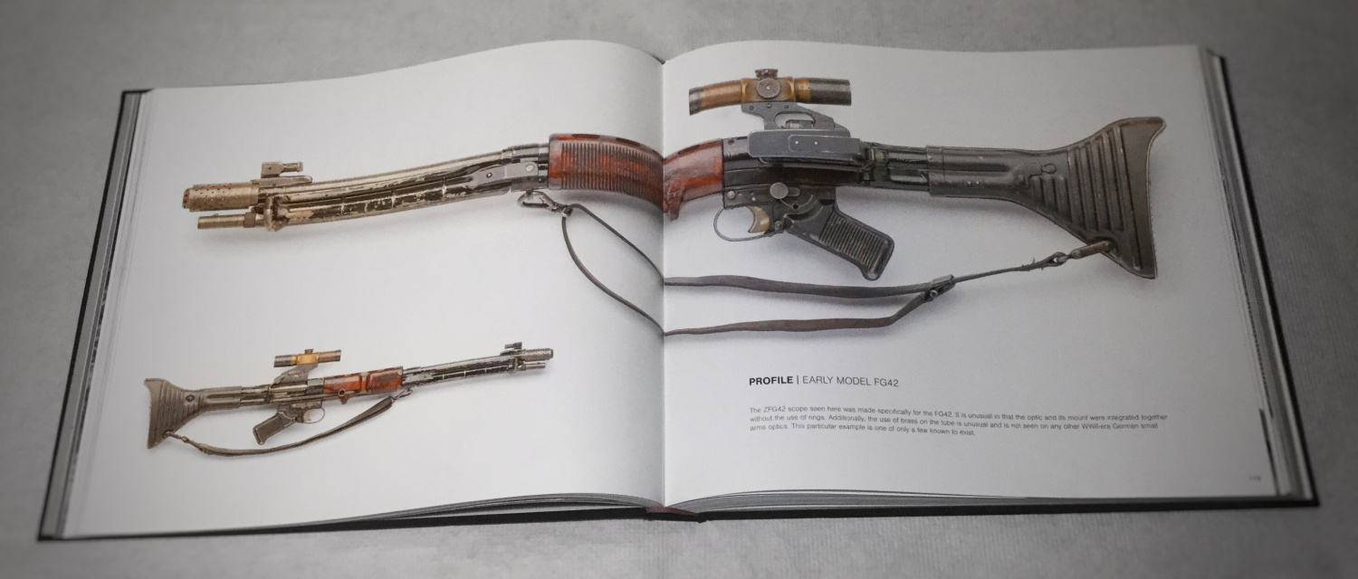 Early model FG42 with an optic