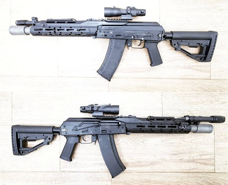 Sureshot Armament Group MK2.1 Free-Floated Drop-In AK Chassis (2)