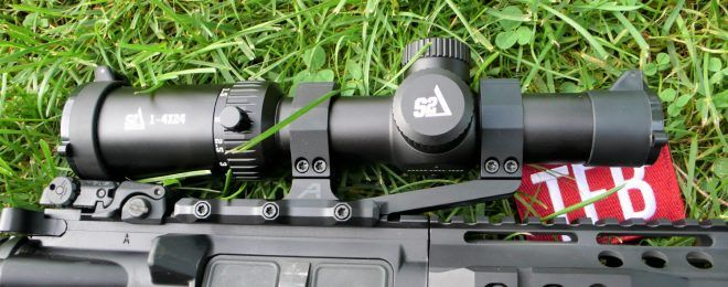 1-4x24 Rifle Scope S2 Delta