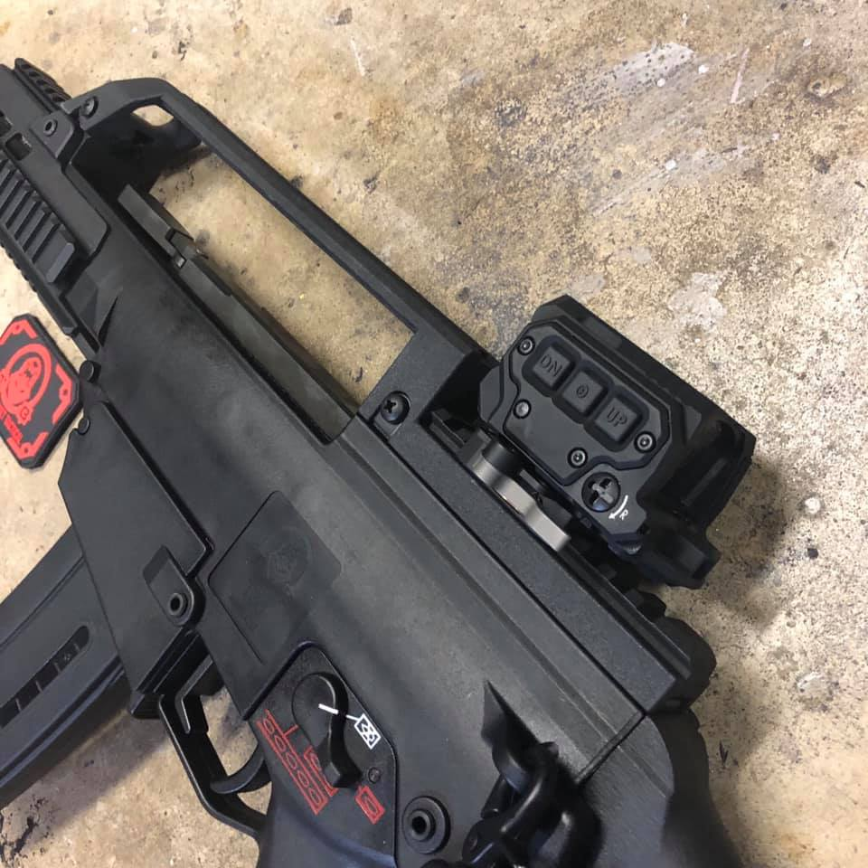 Tommy Built T36 Upgrade - New Top Rail/Carry Handles And