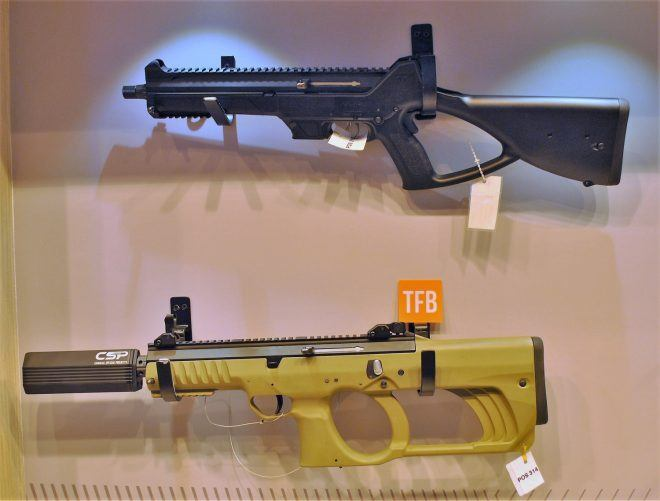Caracal CC10 and shorter prototype.