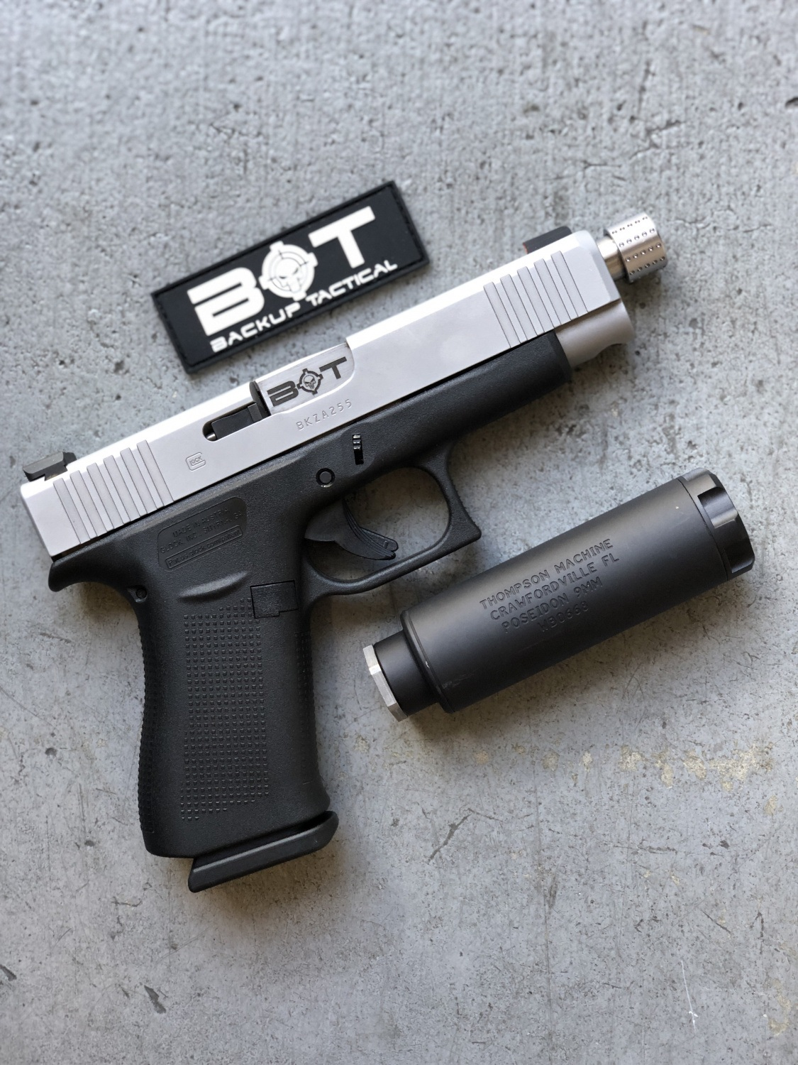backup tactical with suppressor