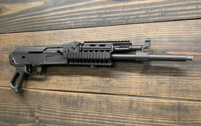 POTD Wolfpack Armory AK with Carbon Fiber Barrel