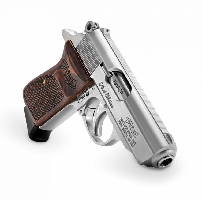 Walther PP  PPKS Walnut Grip with your name and last name