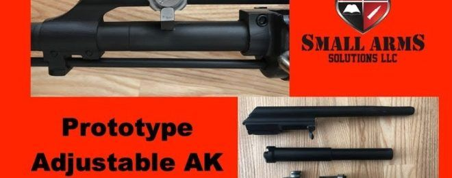 Small Arms Solutions Shows Prototype Adjustable AK Gas System