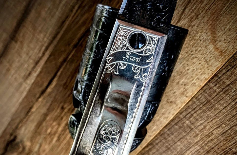 Wheelgun Wednesday Replica of Gustave Young Engraved Colt Dragoon Revolver (36)