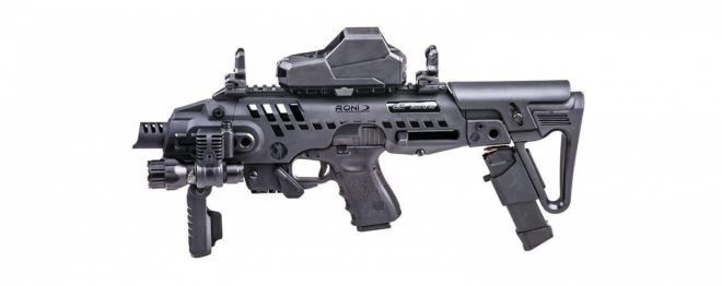 CAA USA Confirms Exclusive Licensing Agreement with SB Tactical full roni