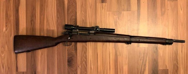 Yard Sale Find: Remington M1903 Sniper Rifle