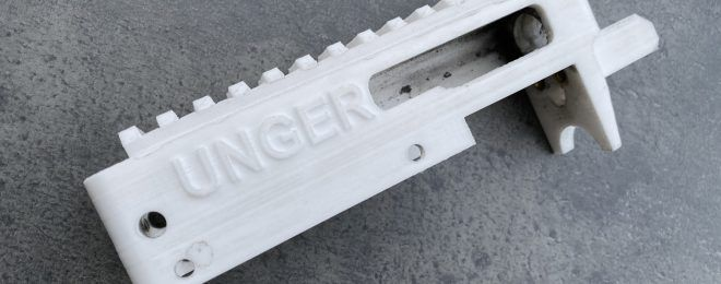 3D Printed Receiver For Ruger 10/22 Style Rifles