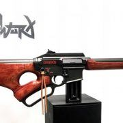 BrickWurx Manufacturing Lever Action AR-15 Red Ryd AR (1)