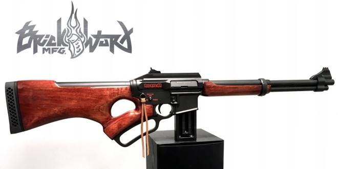 BrickWurX Manufacturing Red Ryd-AR Lever-Action AR-15 -