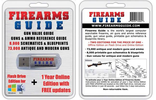 Firearms Guide countertop product.