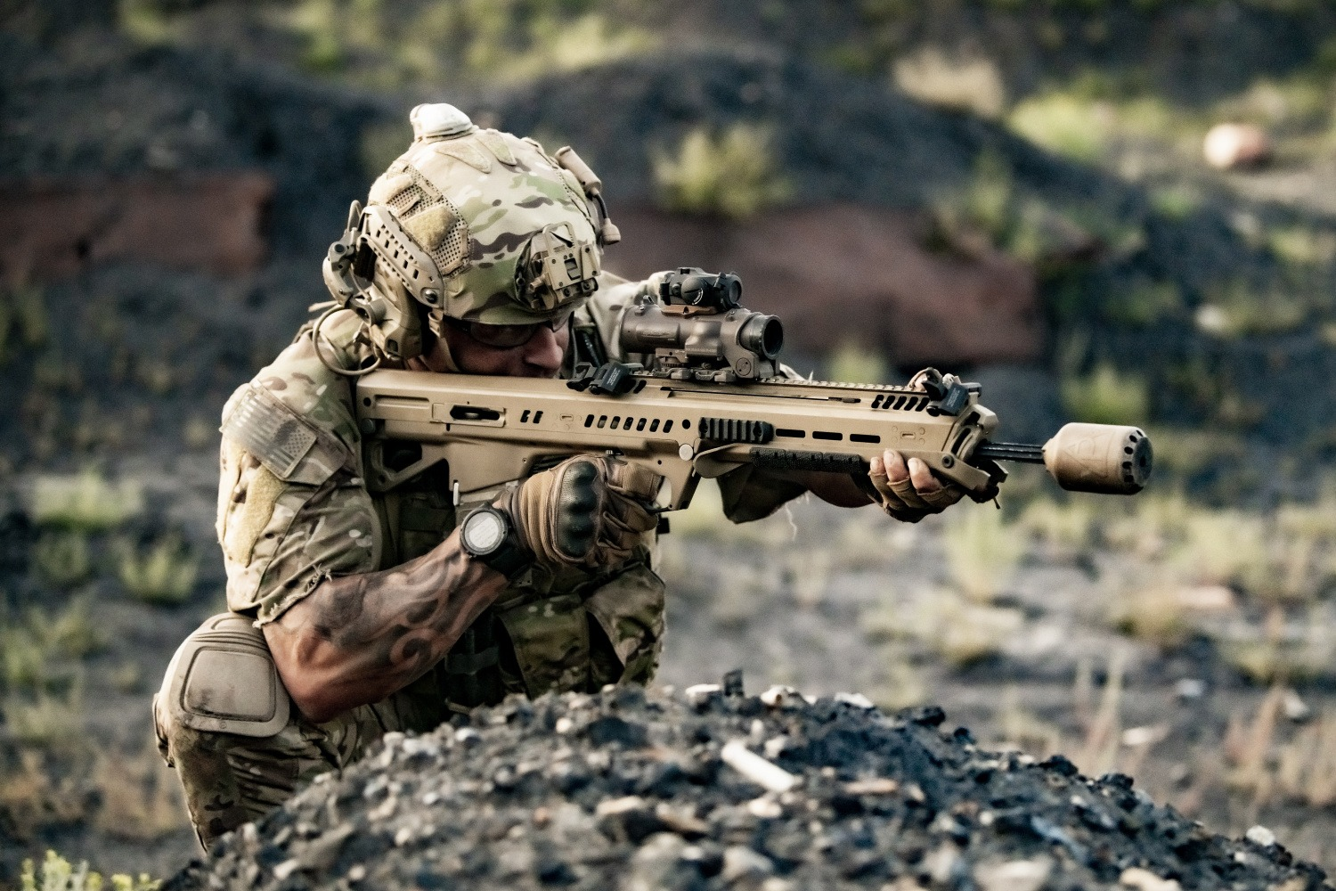 General Dynamics' Next Generation Squad Weapon - The RM277 -